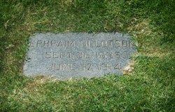 Ephraim Tillotson