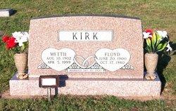 Mettie <I>Sanders</I> Kirk
