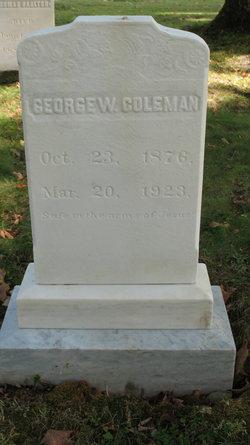 George Weston Coleman