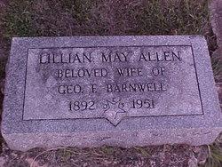 Lillian May <I>Allen</I> Barnwell