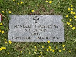 Sgt Mandell T. Bosley, Sr