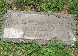 Ina Odessa <I>Hargett</I> Conder