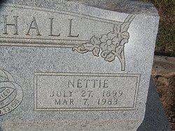 Nettie <I>Blackburn</I> Marshall