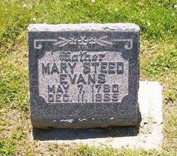 Mary <I>Steed</I> Evans