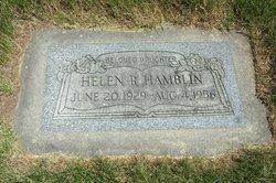 Helen Jean <I>Russell</I> Hamblin