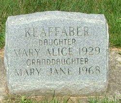 Mary Jane Keaffaber