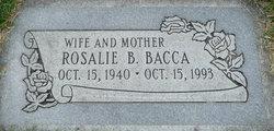 Rosalie <I>Betts</I> Bacca