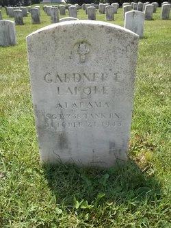 Sgt Gardner E. Lapole