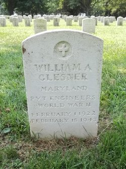 Pvt William A. Glesner