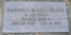 Raynold Blaine Brady, Jr