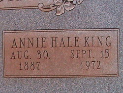 Annie Campbell <I>Hale</I> McCreight
