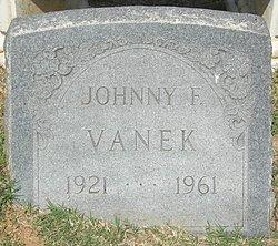 Johnny F. Vanek