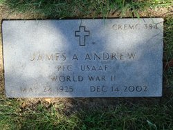 Dr James A Andrew