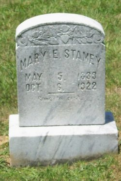 Mary Ann Ester <I>Stamey</I> Stamey