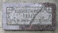 Elizabeth <I>Mohr</I> Felix