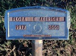Flora E. Albright