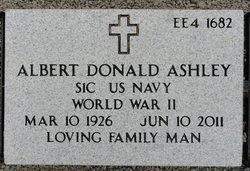 Albert Donald Ashley