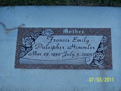 Francis Emily <I>Pulsipher</I> Himmler