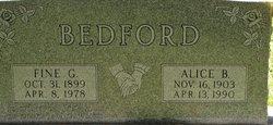 Fine Gordon Bedford