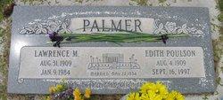 Edith Josephine <I>Poulson</I> Palmer