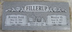 Weslie O. Fillerup