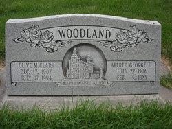 Olive Marie <I>Clark</I> Woodland