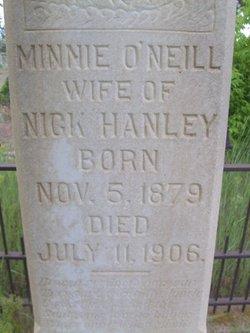Minnie O'Neill Hanley