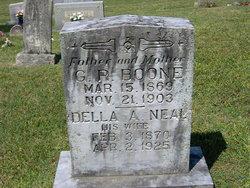 Della A. <I>Neal</I> Boone