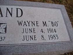 "Wayne Morris ""Bo"" England"