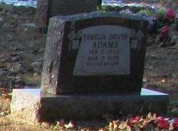Pamelia Meelie <I>Driver</I> Adams