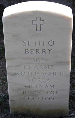 Sgt Seth O Berry