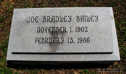 Joe Bradley Bailey, Sr