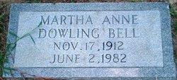 Martha Ann <I>Dowling</I> Bell