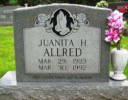 Juanita <I>Harris</I> Allred