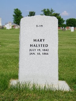 Mary Margaret <I>Robbins</I> Hallsted