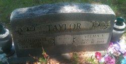 Velma V <I>Harris</I> Taylor