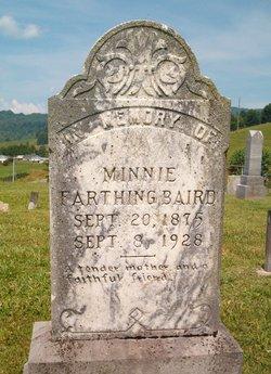 Minnie White <I>Farthing</I> Baird