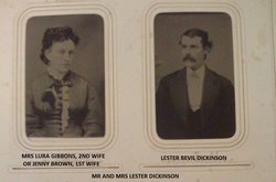 "Philura ""Lura"" <I>Gibbons</I> Dickinson"