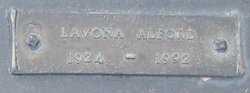 Lavona Theresa <I>Smith</I> Alford