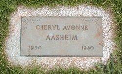 Cheryl Avonne Aasheim