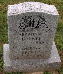 Abraham D Brewer