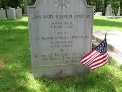 Joan Mary <I>Egleston</I> Appleton