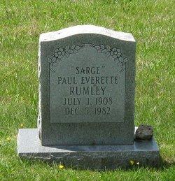 "Paul Everette ""Sarge"" Rumley"