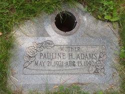 Pauline H Adams