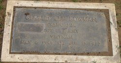Gerald Lee Bowman