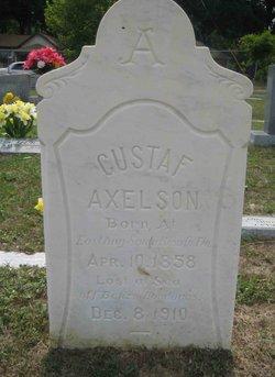 Gustaf Axelson