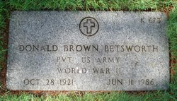Donald Brown Betsworth