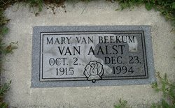 Mary Vanbeekum Vanaalst