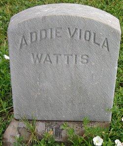 Addie Viola <I>Scott</I> Wattis