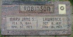 Mary Jane <I>Stoddard</I> Robinson